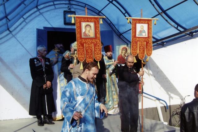 выход на крестный ход 04,11,2011г