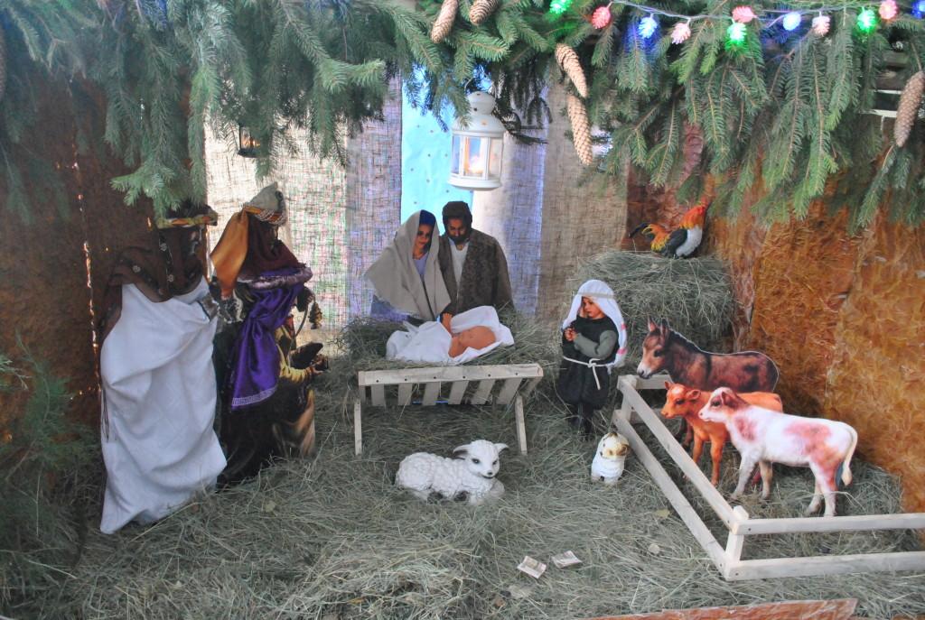 Рождественский Вертеп в пос Северный