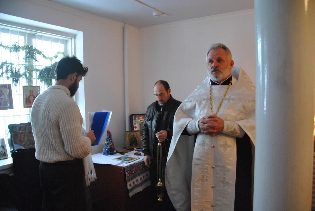 молебен в пос Братский 2