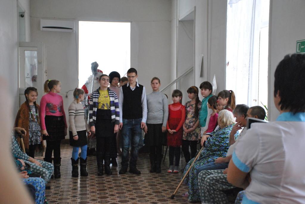 поздравление священиика пожилых людей с Рождеством2